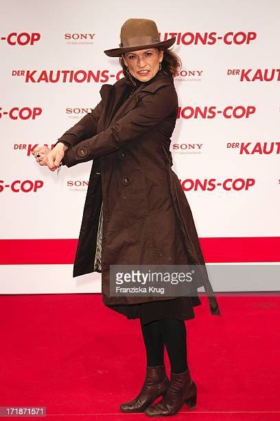 Gabrielle Scharnitzky With The Arrival Of The premiere movie The Bounty Hunter in Berlin