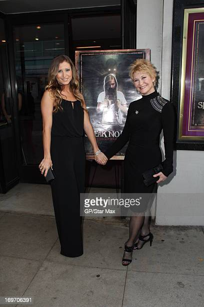 Gabrielle Stone and Dee Wallace as seen on May 30 2013 in Los Angeles California