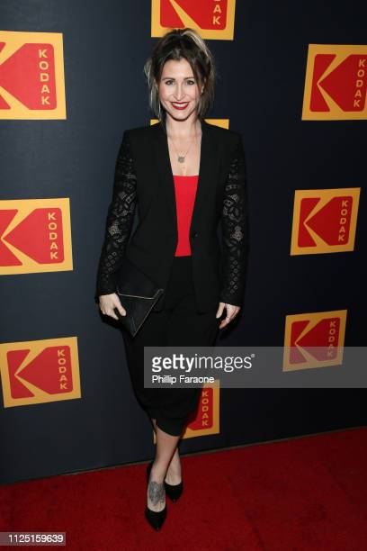 Gabrielle Stone attends the 3rd annual Kodak Awards at Hudson Loft on February 15 2019 in Los Angeles California