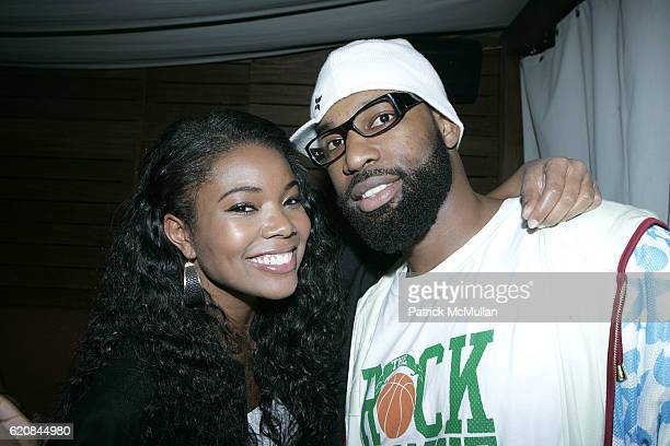 Gabrielle Union and Baron Davis attend Hennessy and 944 Magazine Celebrate Baron Davis' Birthday with Suprise Red Carpet Affair at Stone Rose on...