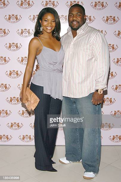 Gabrielle Union and Chris Howard during Juicy Couture Store Opening After Party at Forty Deuce in Las Vegas Nevada United States