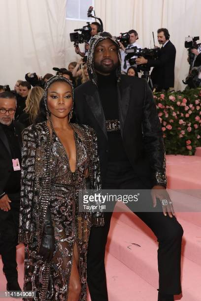 """Gabrielle Union and Dwyane Wade attend the 2019 Met Gala celebrating """"Camp: Notes on Fashion"""" at The Metropolitan Museum of Art on May 6, 2019 in New..."""