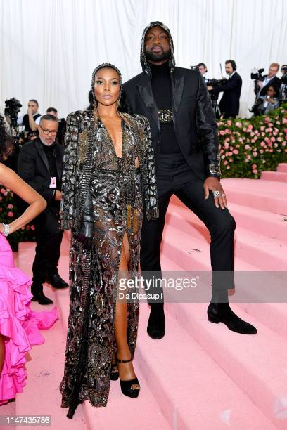 Gabrielle Union and Dwyane Wade attend The 2019 Met Gala Celebrating Camp Notes on Fashion at Metropolitan Museum of Art on May 06 2019 in New York...