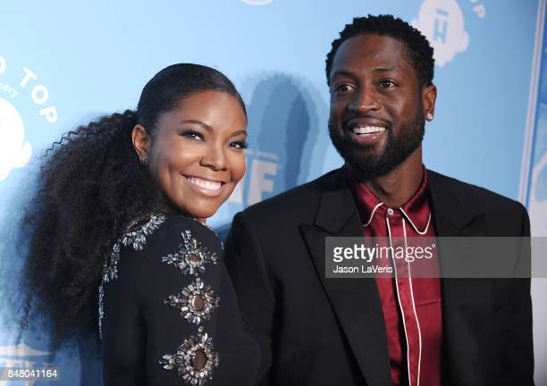 Gabrielle Union and Dwyane Wade attend Variety and Women In Film's 2017 pre-Emmy celebration at Gracias Madre on September 15, 2017 in West...