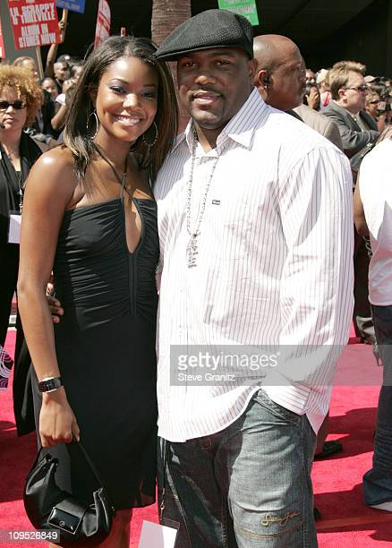Gabrielle Union and husband Chris Howard during 4th Annual BET Awards Arrivals at Kodak Theatre in Hollywood California United States