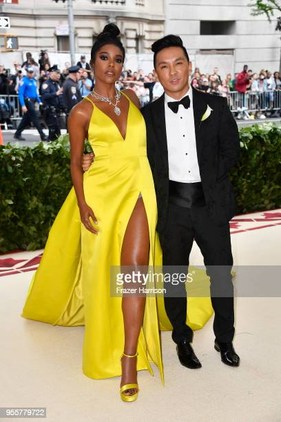 Gabrielle Union and Prabal Gurung attend the Heavenly Bodies: Fashion & The Catholic Imagination Costume Institute Gala at The Metropolitan Museum of...
