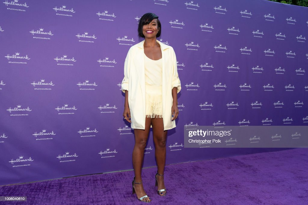 Launch Party For Hallmark's 'Put It Into Words' Campaign - Arrivals : News Photo