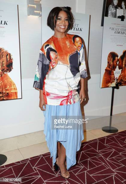 Gabrielle Union attends a screening of 'If Beale Street Could Talk' at The London Hotel on January 08 2019 in West Hollywood California
