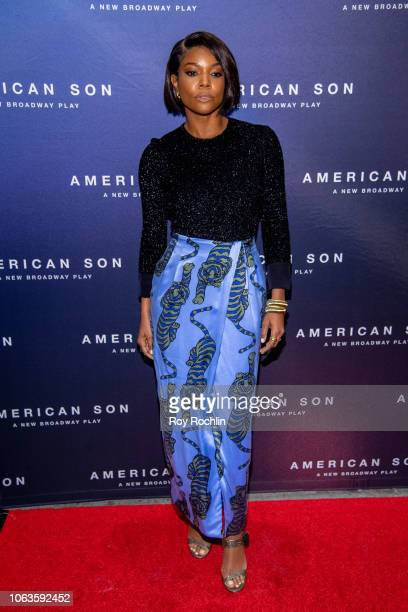 fb85825357 Gabrielle Union attends American Son opening night at Booth Theatre on  November 04 2018 in New.