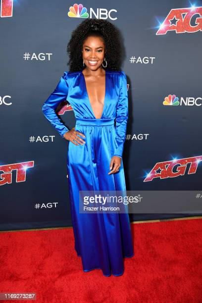 Gabrielle Union attends America's Got Talent Season 14 at Dolby Theatre on August 20 2019 in Hollywood California