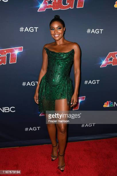 Gabrielle Union attends America's Got Talent Season 14 Live Show at Dolby Theatre on August 13 2019 in Hollywood California
