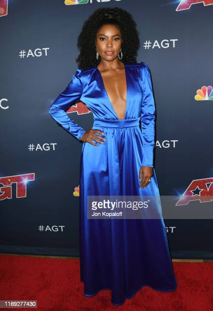 Gabrielle Union attends America's Got Talent Season 14 Live Show Red Carpet at Dolby Theatre on August 20 2019 in Hollywood California