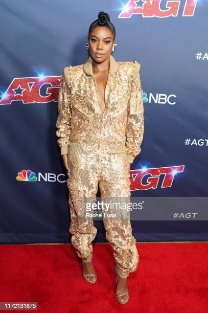 Gabrielle Union attends America's Got Talent Season 14 Live Show Red Carpet at Dolby Theatre on September 03 2019 in Hollywood California
