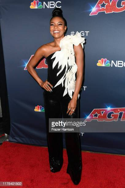 Gabrielle Union attends America's Got Talent Season 14 Live Show Red Carpet at Dolby Theatre on September 17 2019 in Hollywood California