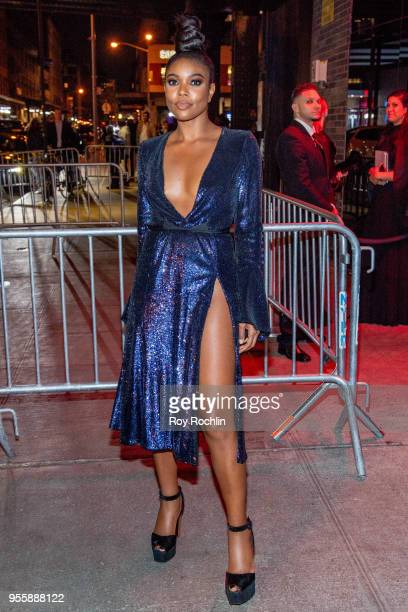 Gabrielle Union attends Heavenly Bodies Fashion The Catholic Imagination Costume Institute Gala after party at the Standard Hotel on May 7 2018 in...