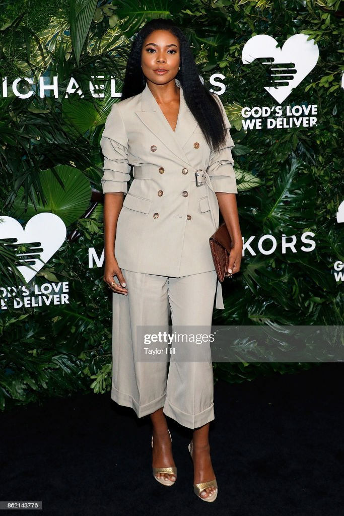 Gabrielle Union attends the 11th Annual God's Love We Deliver Golden Heart Awards at Spring Studios on October 16, 2017 in New York City.