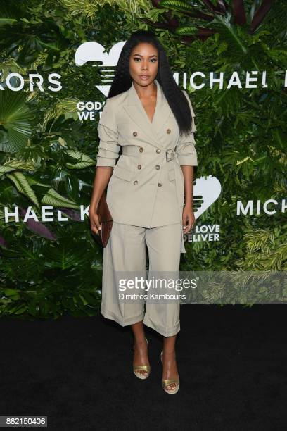 Gabrielle Union attends the 11th Annual Golden Heart Awards benefiting God's Love We Deliver on October 16 2017 in New York City