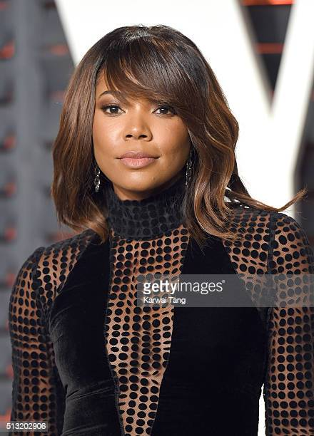 Gabrielle Union attends the 2016 Vanity Fair Oscar Party Hosted By Graydon Carter at Wallis Annenberg Center for the Performing Arts on February 28...