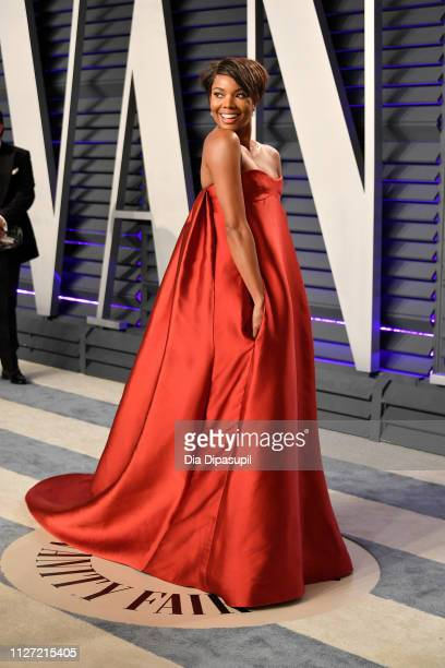 Gabrielle Union attends the 2019 Vanity Fair Oscar Party hosted by Radhika Jones at Wallis Annenberg Center for the Performing Arts on February 24...