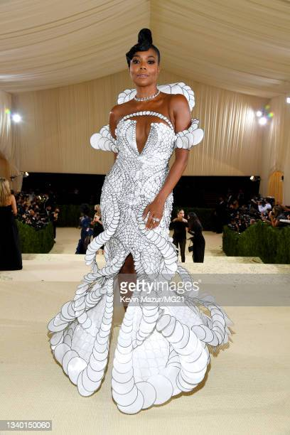 Gabrielle Union attends The 2021 Met Gala Celebrating In America: A Lexicon Of Fashion at Metropolitan Museum of Art on September 13, 2021 in New...