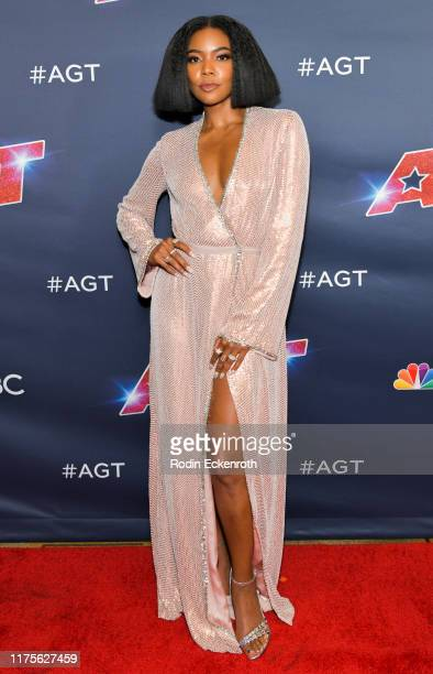 "Gabrielle Union attends the ""America's Got Talent"" Season 14 Finale Red Carpet at Dolby Theatre on September 18, 2019 in Hollywood, California."