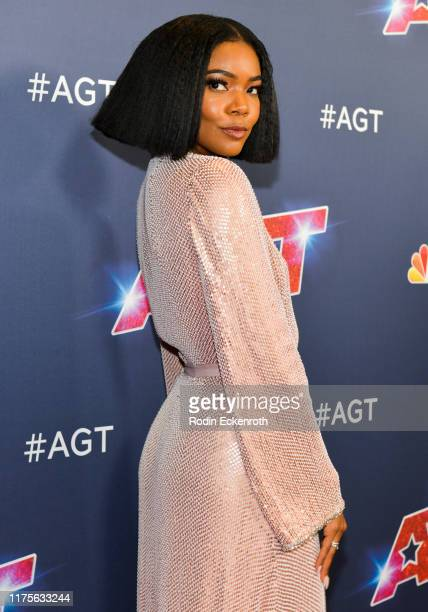 Gabrielle Union attends the America's Got Talent Season 14 Finale Red Carpet at Dolby Theatre on September 18 2019 in Hollywood California