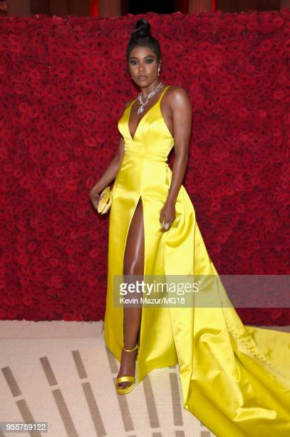 Gabrielle Union attends the Heavenly Bodies Fashion The Catholic Imagination Costume Institute Gala at The Metropolitan Museum of Art on May 7 2018...