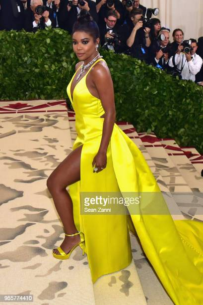 Gabrielle Union attends the Heavenly Bodies: Fashion & The Catholic Imagination Costume Institute Gala at The Metropolitan Museum of Art on May 7,...