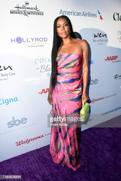 Gabrielle Union attends the HollyRod Foundation's 21st Annual DesignCare Gala on July 27, 2019 in Malibu, California.