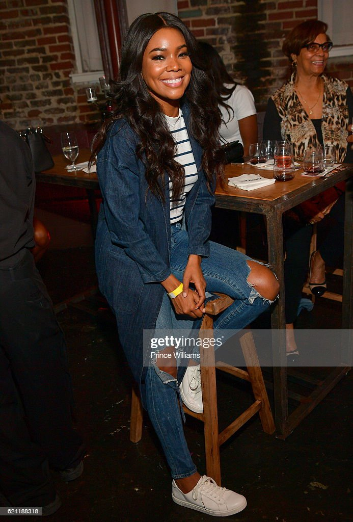 Gabrielle Union attends Uptown Uncorked at King Plow Arts Center on November 17, 2016 in Atlanta, Georgia.