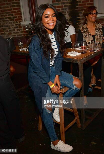 Gabrielle Union attends Uptown Uncorked at King Plow Arts Center on November 17 2016 in Atlanta Georgia