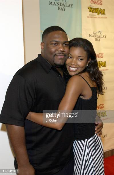 Gabrielle Union Chris Howard during Coca Cola Presents Tiger Jam VI Benefitting Tiger Woods FoundationArrivals Concert at Mandalay Bay Events Center...