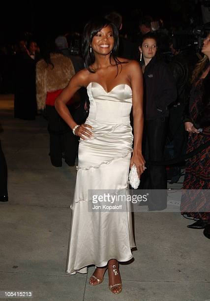 Gabrielle Union during 2005 Vanity Fair Oscar Party at Mortons in Los Angeles California United States
