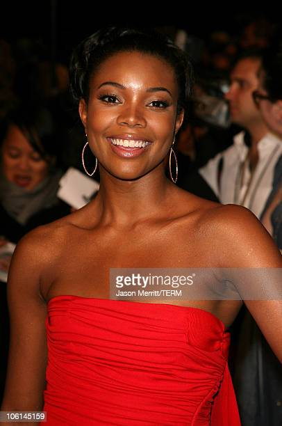 Gabrielle Union during 2007 Vanity Fair Oscar Party Hosted by Graydon Carter at Mortons in West Hollywood California United States