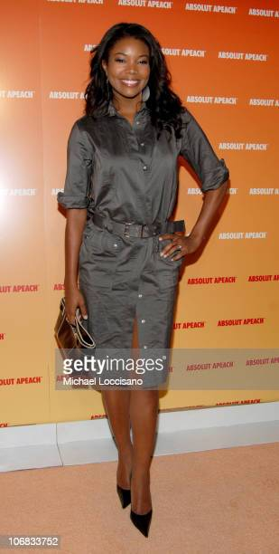 Gabrielle Union during Desperate Housewife Nicollette Sheridan Joins ABSOLUT to Host the Launch of their New Flavor APEACH at Koi at the Bryant Park...