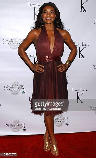 Gabrielle Union during Elevate Hope Foundation 'Circle of Passion' Arrivals at Astra Lounge in West Hollywood California United States