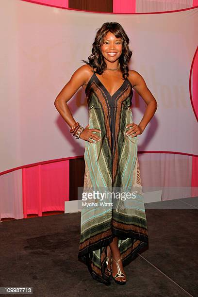 Gabrielle Union during Gabrielle Union Hosts In Living Pink Benefit for Young Survival Coalition at The Altman Building in New York City New York...