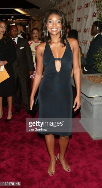 Gabrielle Union during Spike TV Presents The 2003 GQ Men of the Year Awards Arrivals at The Regent Wall Street in New York City New York United States