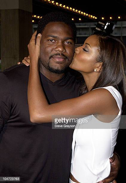 Gabrielle Union husband Chris Howard during Two Can Play That Game Premiere at Cineplex Odeon Century Plaza Cinema in Century City California United...