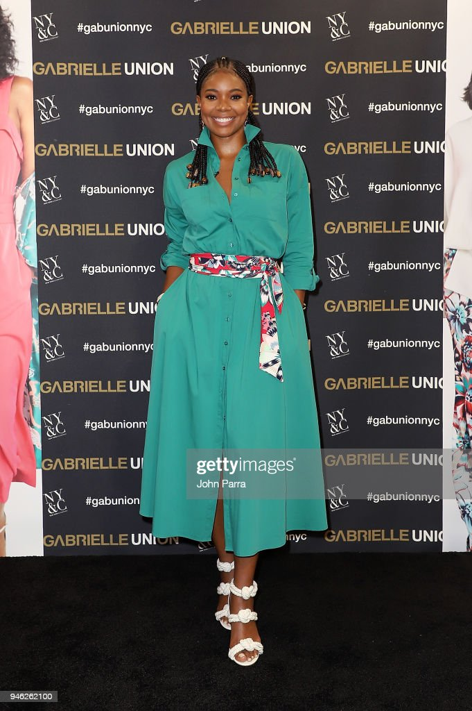 Gabrielle Union Visits New York & Company To Launch New Collection
