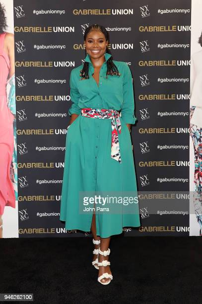 Gabrielle Union launches New Collection at New York Company on April 14 2018 in Hialeah Florida