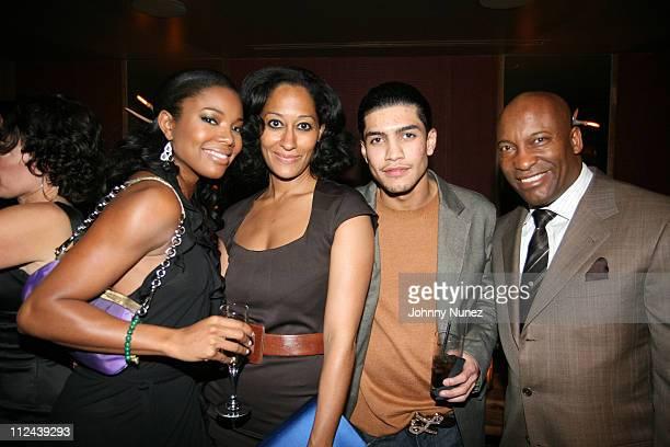 Gabrielle Union Tracee Ellis Ross Rick Gonzalez and John Singleton