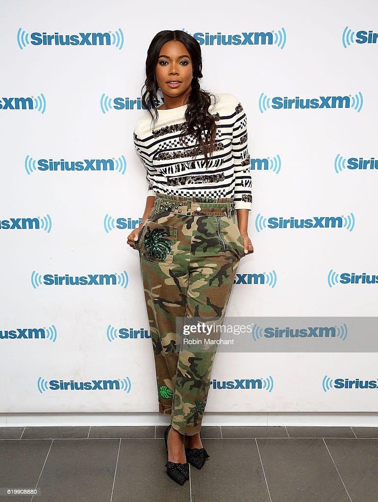 Celebrities Visit SiriusXM - November 1, 2016
