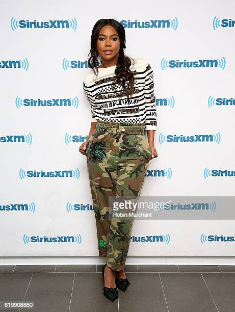 Gabrielle Union visits at SiriusXM Studio on November 1 2016 in New York City