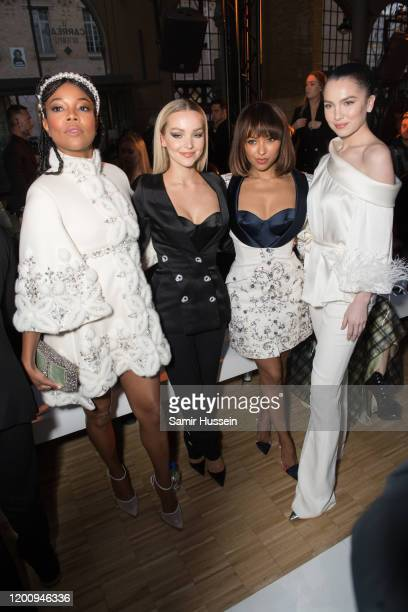 Gabrielle UnionDove Cameron Kat Graham and Maya Henry attend the Ralph Russo Haute Couture Spring/Summer 2020 show as part of Paris Fashion Week on...