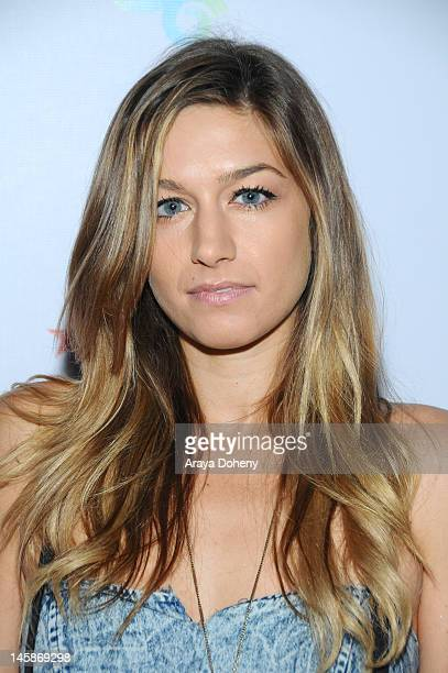 Gabrielle Wortman arrives at the Los Angeles Times Presents Rock/Style 2012 event at Hollywood Roosevelt Hotel on June 6 2012 in Hollywood California