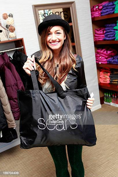 Gabrielle Wortman attends Sears Shop Your Way Digital Recharge Lounge on January 18 2013 in Park City Utah