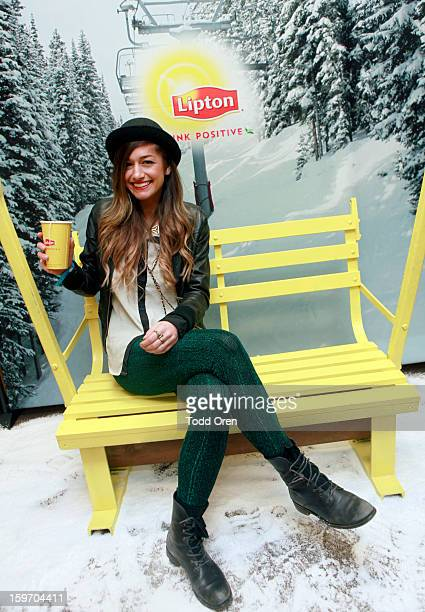 Gabrielle Wortman attends Sears Shop Your Way Digital Recharge Lounge on January 18, 2013 in Park City, Utah.