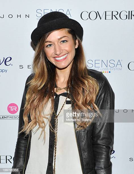 Gabrielle Wortman attends the TR Suites Daytime Lounge Day 1 on January 18 2013 in Park City Utah