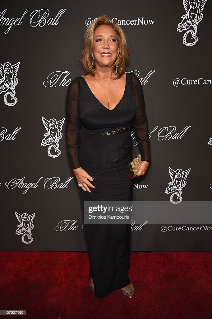 Gabrielle's Angel Foundation President and Co-founder Denise Rich attends Angel Ball 2014 hosted by Gabrielle's Angel Foundation at Cipriani Wall Street on October 20, 2014 in New York City.